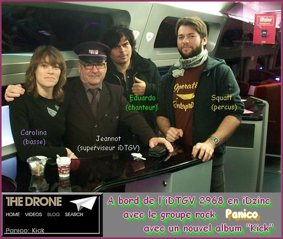 photographie avec le groupe Panico