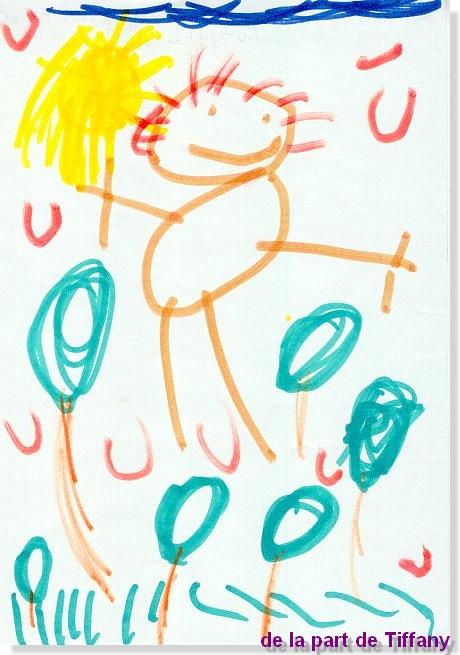 dessin de Tiffany